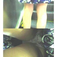 私服の女の子の生パンを逆さ撮りで晒した件�