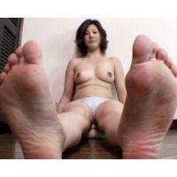 《足フェチ》30代 色っぽい女性の色っぽいつま先・足裏