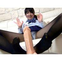 【パンスト足コキ】優等生女子が丁寧淫語でオチンチン遊び♪FULL HD 1920×1080