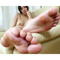 《足フェチ》30代 元モデル 美しすぎる女性の挑発する足裏