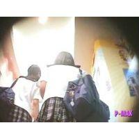 友達とブラブラエロ尻食い込み女の子【パンチラ動画】P-MAX 005