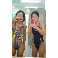水泳部の記念写メ
