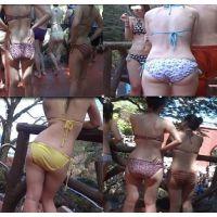【AVCHD高画質】水着 若い娘さんの水着尻 60