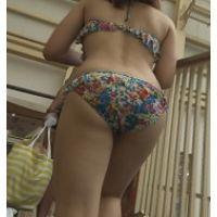 限定品【AVCHD.60i 高画質】ビキニ 若い娘さんのビキニ尻 555