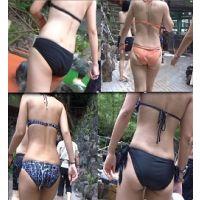 【AVCHD高画質】水着 若い娘さんの水着尻 36