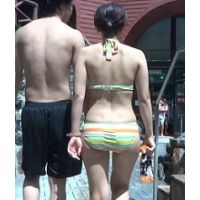 【AVCHD高画質 60i】水着 若い娘さんのビキニ尻180