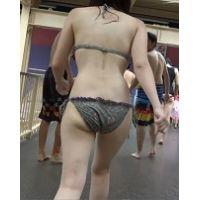 【AVCHD.60i高画質】ビキニ尻 若い娘さんのビキニ尻 53 216