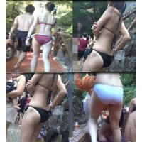 【AVCHD高画質】 水着の尻 若い娘さんの水着尻 ?