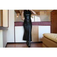 mi11レザースカート