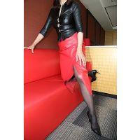 SR37 赤レザースカート set