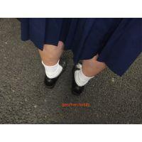 ★観覧注意★本物中学生激臭靴下「実は2日同じ靴下ですよ」14歳もえちゃん足フェチ写真集
