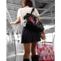 制服女の子の通学風景 002 003 007 セット販売
