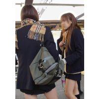 制服女の子の通学風景 003 005 006 セット販売