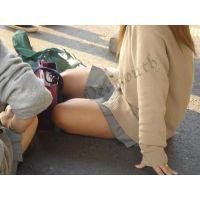 制服幼い学生の通学風景 001と006セット販売
