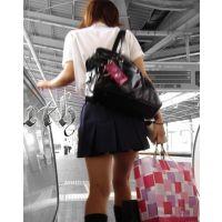 制服女の子の通学風景 002 006 007 セット販売