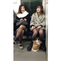 電車内の合コン帰りの女子大生2人組(其の二)