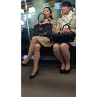 (中編)就活中の美脚女子大生2人組