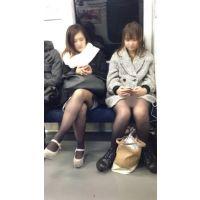 電車内の合コン帰りの女子大生2人組(其の三)