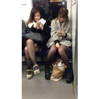 電車内の合コン帰りの女子大生2人組(其の一)