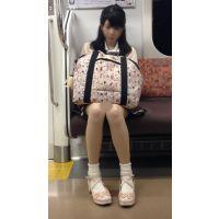 電車内のアイドル級に可愛いスタイル抜群の女子大生(後編)