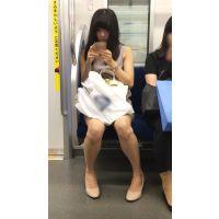 両方の腋を見せてくれる国宝級の美脚を持つアイドル顔の美少女(其の八)