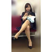 電車内のいやらしいカラダをした抱き心地が良さそうな美人OLさん(其の一)