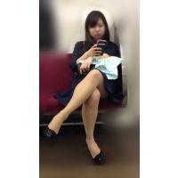 電車内のいやらしいカラダをした抱き心地が良さそうな美人OLさん(其の二)