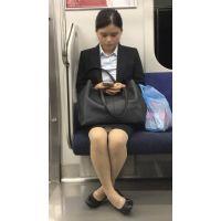 電車内の仕事帰りの無防備な新入女子社員(其の三)