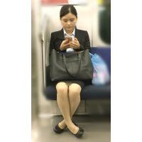 電車内の仕事帰りの無防備な新入女子社員(其の一)