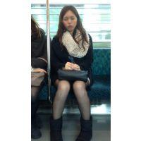 電車内の寝顔が可愛いおねえさん(前編)