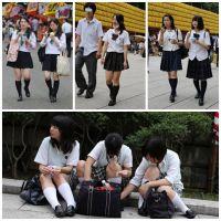 女子校生達の放課後 File001