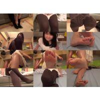 19歳学生☆ニーハイブーツで蒸れた足【タイツ編】動画?01