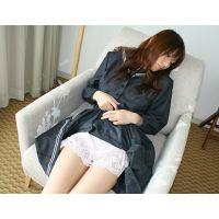 【綺麗なお姉さんシリーズ】ブレザー風セーラー服とスリップを着せてオナニー&電マで悪戯