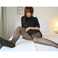 【綺麗なお姉さんシリーズ】大丸デパートの制服を着せてオナニー&悪戯&クンニ
