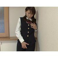 【HD/4000kbps/綺麗なお姉さんシリーズ】紺色のOL制服を着せて悪戯&ハメ撮り