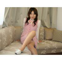 【綺麗なお姉さんシリーズ】ピンクのOL制服とスリップを着せてオナニー&悪戯