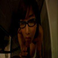 【個人撮影】セフレに黒縁メガネ×フェラ抜き