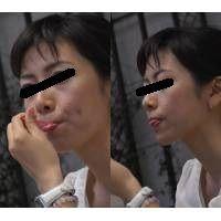 どアップ舐め撮り? 極上美女の唇は、秘貝のように卑猥 Full HD