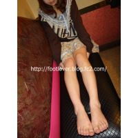 set【写真集+動画】19歳お姫様系大学生のブーツ、カラータイツ、素足、パンチラ♪