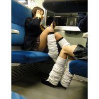 ■電車で見えちゃう女子高生■