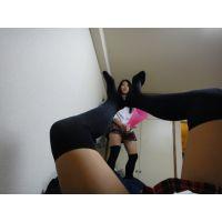 ■ニーソックス少女■10代の足