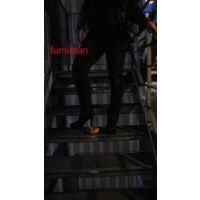 フードクラッシュ階段に仕掛けたら・・・