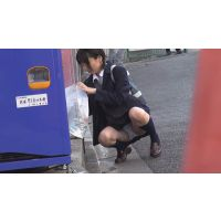 JKツケ回し5【推定→中学生。のロリパンツ見放題】