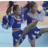 潜入!脅威の「喜び組」養成機関!!中国チアダンス競技会(JS編)02
