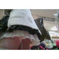 幼い黒髪女の子私服姿白のミニスカ可愛いパンチュ【パンチラ動画】034と022セット販売