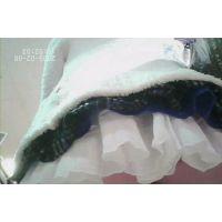 黒髪女の子私服姿白のミニスカ可愛いパンチュ【パンチラ動画】032〜034セット販売