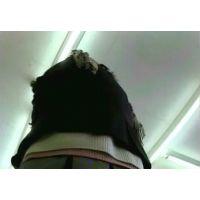 派手なパンチュ!マフラー激ミニ制服ギャル女子校生【動画】3作品セット販売 PE09 PE02 PE07
