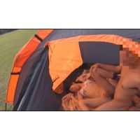 夏フェスにビキニで参加中JKがテントで挿入 1+2全編