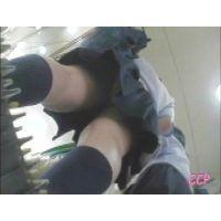 友達と喋る事に夢中で逆さ撮りに気づかない馬鹿な女の子【動画】CCP 005
