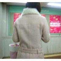 エロい水色のパンチュ私服スカートエスカレーター逆さ撮り【動画】006